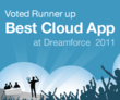 Voted Runner-Up Best Cloud App 2011 by Salesforce