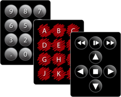 Templates for all our keypads so you can customize the keypad to fit your application