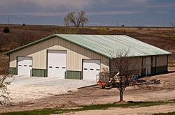 Olympia Steel Buildings Metal Barn Building
