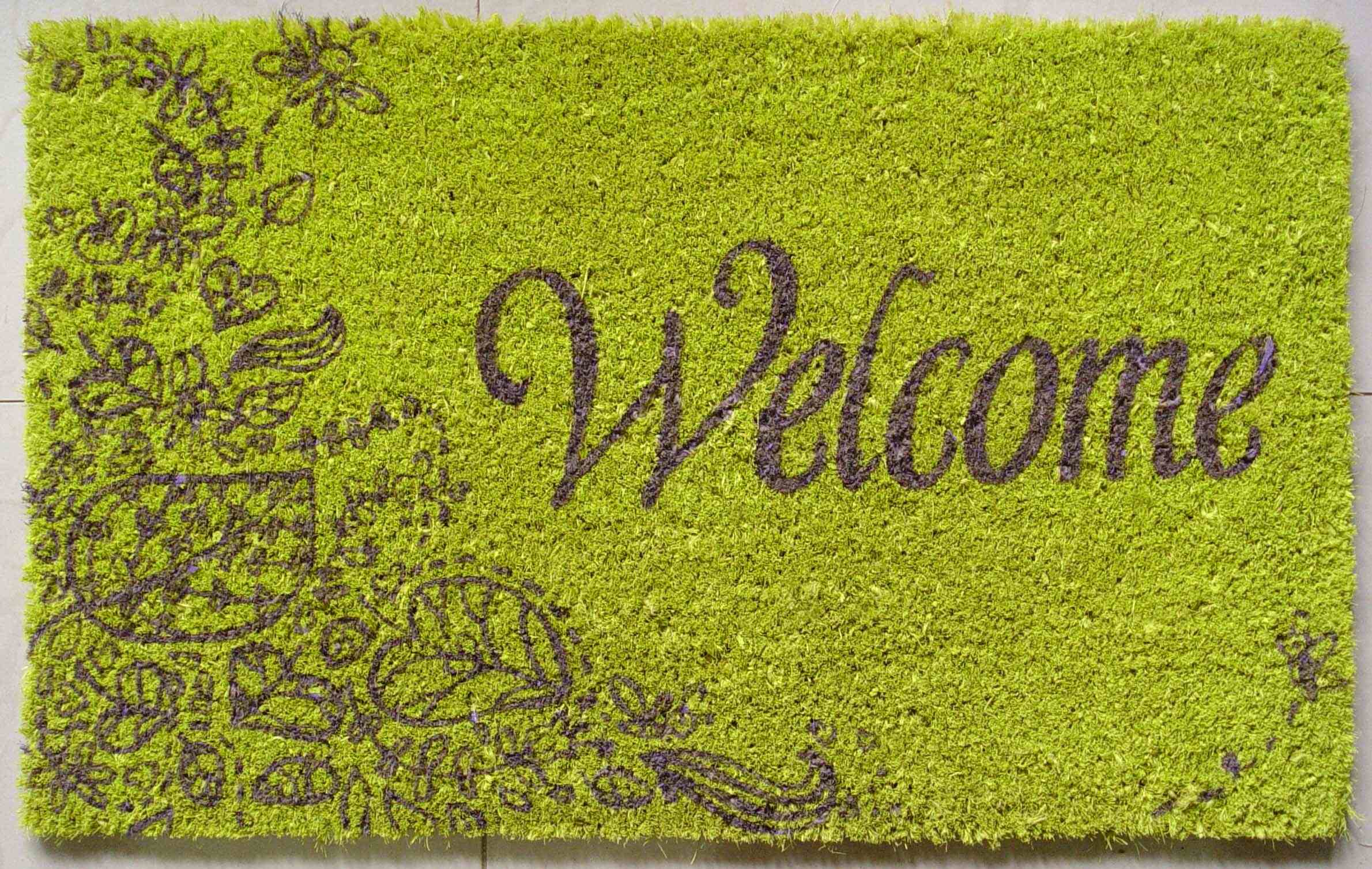 Creative Welcome Mats Ideas Inhabit Zone