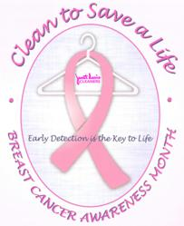 Janet Davis Dry Cleaners supports Breast Cancer Awareness Month Image
