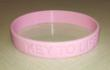 Key To Life Breast Cancer Awareness Wristband