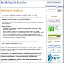 medication rebate coupons online