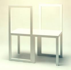 Bessie Smith Chair, 1988, by Robert Wilson