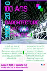 DRAC « Cent ans d'architecture dans la Manche »