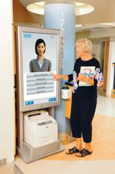 Interactive Hospital Wayfinding Technology from LogicJunction