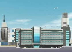 Cairo Intl. Airport - TB1 Facades Renovation by EEGMA