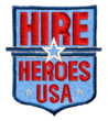 Hire Heroes USA badge