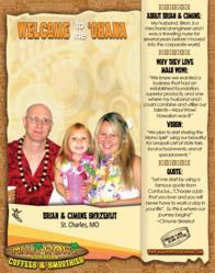 New Maui Wowi Hawaiian 'Ohana members Brian & Cimone Skrzekut