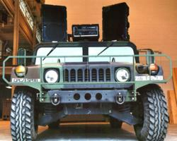 Technomad Humvee-Mounted Military PA System