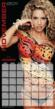 Jennifer Nicole Lee Body Paint Calendar Photo Super Fitness Model