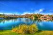 photo of waterfront homes in La Quinta, CA