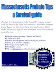 free Massachusetts probate guide