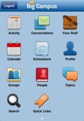 My Big Campus iOS app