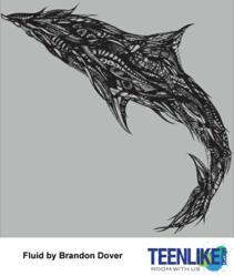 Fluid winning design at Teenlike.com