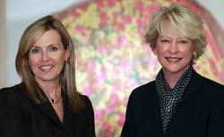 HASA Board President Jeri Hessan and Executive Director Susan H. Glasgow