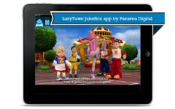 LazyTown JukeBox iPad, iPod Touch & iPhone app by Panarea Digital