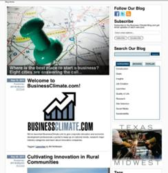 BusinessClimate.com provides data and quality of place content for nation's top business regions.
