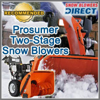 prosumer snow blower, prosumer snow thrower, prosumer snow blowers, prosumer snowblower