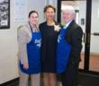 TD Bank employees at Eva's Kitchen, (l-r) Kim Rupp, Retail Market Manager – Passaic, Dawn Marie Montgomery-Otis, Vice President, Store Manager and Thomas Hewitt, Vice President/Field Marketing Manger