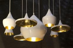 Beat Lights White by Tom Dixon