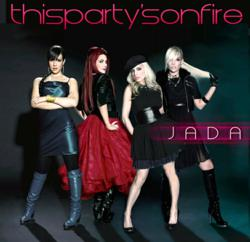 "Jada's new single, ""This Party's On Fire"", available now on iTunes"