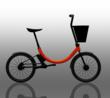 Conscious Commuter Folding e-Bike with Removable Basket