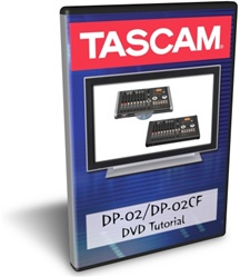 Tascam DP-02 Training DVD