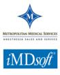 Metropolitan Medical Services, iMDsoft logos