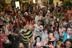 A high-resolution image taken at the 2010 Shreveport Zombie Walk.
