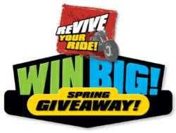 Revive Your Ride! WIN BIG Spring Giveaway