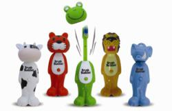 Poppin' Toothbrush Characters