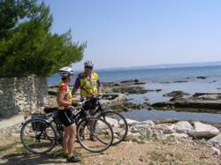 Croatia bike and boat tour