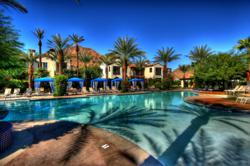photo of condos in Palm Springs, California area