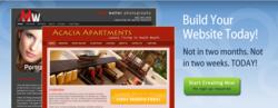 Website building service - vSites by vFlyer