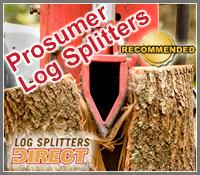 prosumer log splitter, prosumer gas log splitters, gas wood splitter