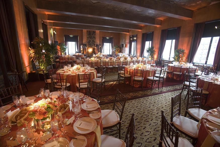 Art deco san francisco wedding venue to host a city club affaire wedding and event show oct 2 - Club deco ...
