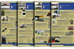History Panels showing 60 years of manufacturing