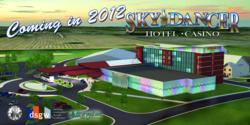 Shingobee Builders awarded construction of Sky Dancer Hotel & Casino expansion.