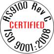 AS 9100 Certification Stamp