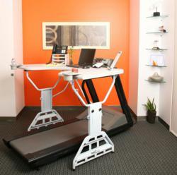 A Standing Desk from TrekDesk Treadmill Desk