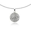 Silver Sphere Pendant | Gifts for Ladies | Silver Pendants