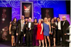euronews primée prix  magazine britannique M&M