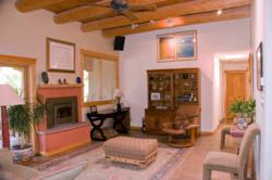 Clasic New Mexico styling of a Solar Home