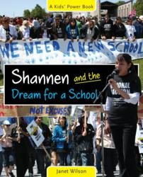 The cover of Shannen and the Dream for a School