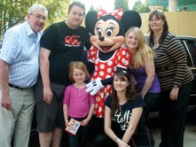 Jasper's Newcastle franchisees Sue and Dave Burrow at Disneyland