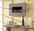 BG 58 Series Grey Limestone Wall Mount Fireplace