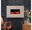 BG 58 Series White Limestone Wall Mount Fireplace