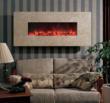 BG 100 Series Honey Travertine Wall Mount Fireplace