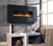 BG 100 Series Black Granite Wall Mount Fireplace